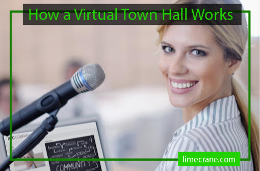 How a Virtual Town Hall Works