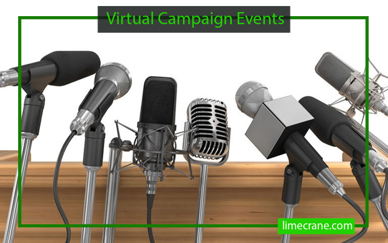 How 2020 Political Candidates Are Embracing Virtual Campaign Events