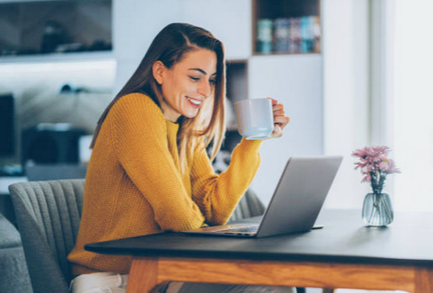 work from home with webcasts