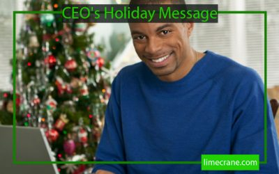 CEO's Holiday Message