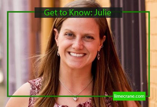 Get to Know Lime Crane Lead Editor Julie