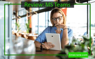 Is Microsoft Teams Good for Online Meetings? It Depends.
